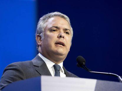 El presidente de Colombia, Iván Duque, en una imagen de archivo.