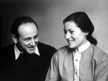 Paul y Gisèle Celan, en 1956 (colección Eric Celan).