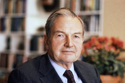 David Rockefeller, en una foto de 1981.