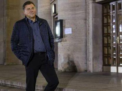 Ivan Krastev, fotografiado este martes en Berlín.