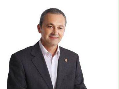 José Antonio Moreno, en una imagen de campaña de las elecciones municipales de 2015.