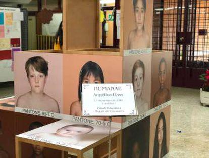 Una muestra del proyecto 'Humanae', de Angélica Dass.