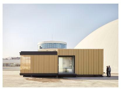 El proyecto Room2030 permite crear habitaciones con herramientas punteras bajo la consigna de la rapidez, la eficacia y el respeto medioambiental.