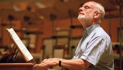 El clavecinista y director holandés Ton Koopman.