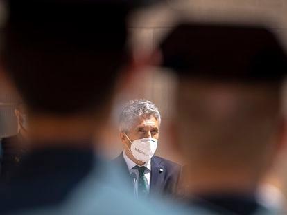 El ministro del Interior, Fernando Grande-Marlaska, en un acto en Barcelona el pasado 28 de mayo.