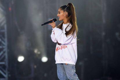 Ariana Grande, en una imagen del concierto del pasado 4 de junio en Manchester. La cantante no dejó pasar a fotógrafos a su actuación en Barcelona.