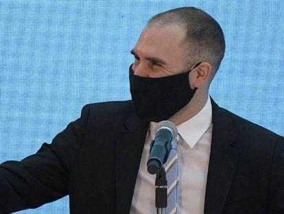 El ministro de Economía de Argentina, Martín Guzmán, en abril pasado.