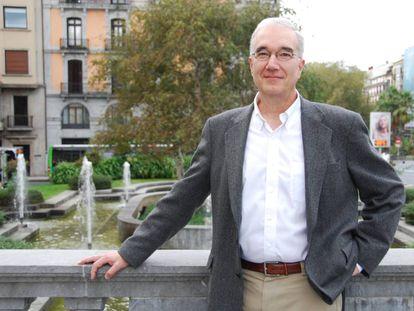 El biólogo Wiiliam Friedman, en su visita a San Sebastián este otoño.