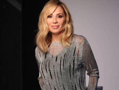 La cantante Marta Sánchez el pasado lunes en Madrid.