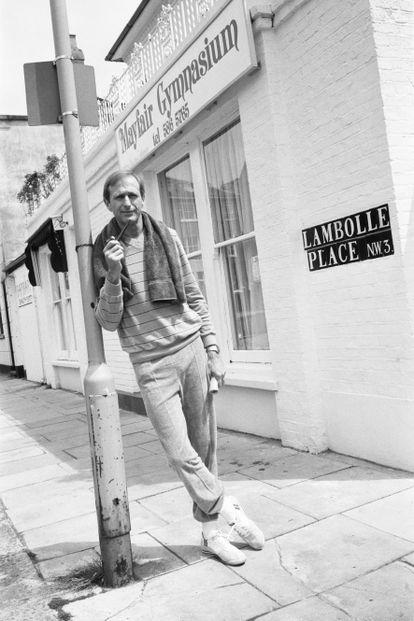 Graham Chapman, uno de los seis miembros de Monty Python, en 1982.