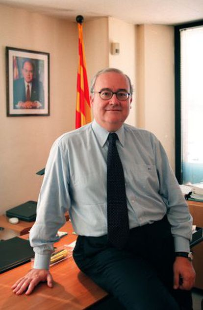 El presidente del Instituto Catalán de la Salud, Josep Prat.