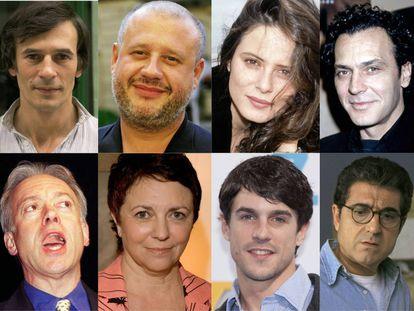 Algunos de los actores y actrices que dieron vida a los primeros gais y lesbianas que los espectadores pudieron ver en series españolas.