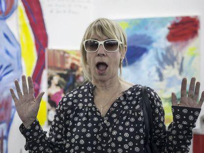 Kim Gordon, en Material Art Fair, en Ciudad de México