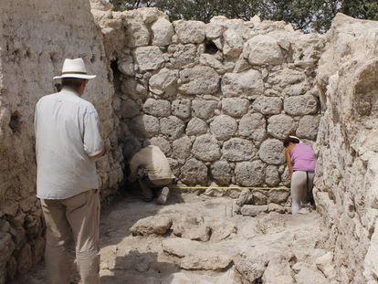 Almacén del palacio del Cerro de la Merced.