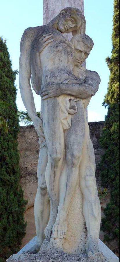'El héroe muerto', pieza que Juan de Ávalos presentó en la exposición nacional de Bellas Artes del Retiro y convenció a Franco de que debía ser el artista quien se encargara de las esculturas del Valle de los Caídos.