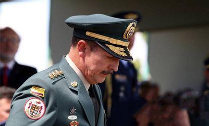 El general Nicasio de Jesús Martínez, el pasado diciembre en Bogotá.