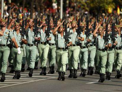 La unidad de élite de la infantería española pone en marcha un plan forzoso para combatir el sobrepeso entre sus miembros
