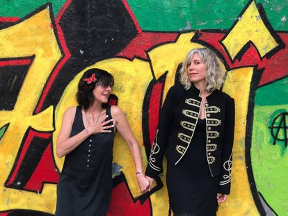 Ajo y Judith Farrés, en una imagen promocional.