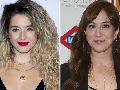 Las cantantes Mimi Doblas y Mai Meneses.