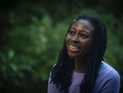 La novelista británica Helen Oyeyemi, el pasado noviembre en Barcelona.