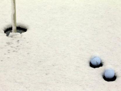 La nieve congela el Match Play