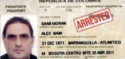 Pasaportee de Alex Saab.