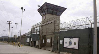 La base de Guantánamo en una foto de archivo.