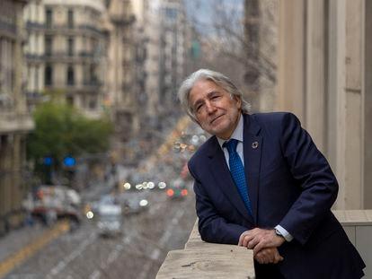 Josep Sánchez Llibre, el presidente de la patronal catalana Foment del Treball.