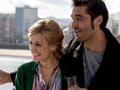 Alexandra Jiménez y Álex García, en 'Si yo fuera rico'.