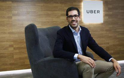 el director general de Uber en España, Juan Galiardo.