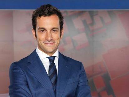 El periodista Álvaro Zancajo.