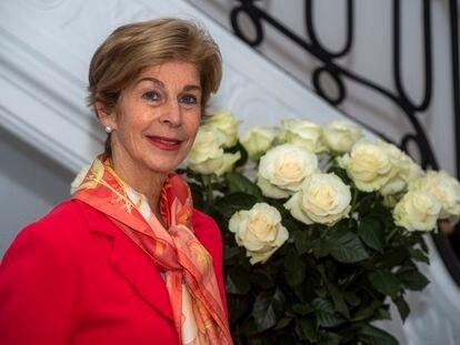 Carolina Barco, embajadora de Colombia en España, en la sede de la legación.