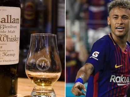 Neymar costó lo mismo que 25.227 chupitos del whisky más caro del mundo