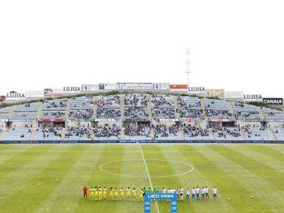 El Coliseum Alfonso Pérez en el duelo entre Getafe y Villarreal.