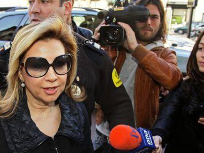 Munar, en los juzgados de Palma en 2010.