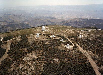 Centro Astronómico Hispano-Alemán de Calar Alto (Almería).