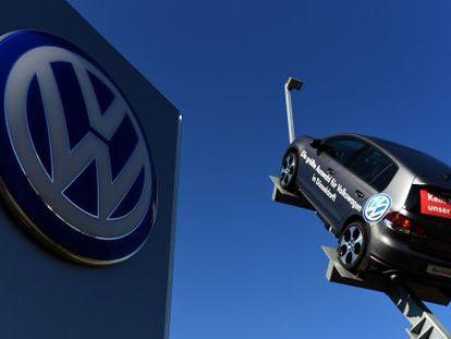 Fábrica de Volkswagen en Dusseldorf (Alemania).