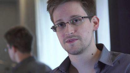 Edward Snowden, durante la entrevista que concedió a 'The Guardian'.