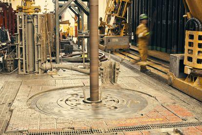 Operaciones de extracción de crudo de Exxon Mobil en Guyana.