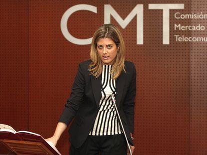 La exconsejera de la Comisión del Mercado de las Telecomunicaciones Marta Plana.