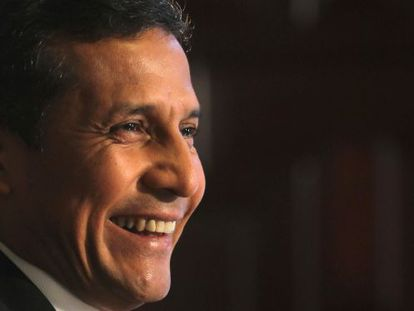 El presidente del Perú, Ollanta Humala.