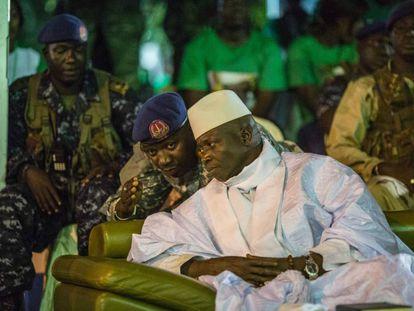 Yahya Jammeh, presidente gambiano.