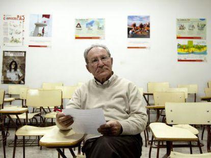 José Antonio Fernández, el exsacerdote que denunció al Estado español por haberle despedido en 1997.