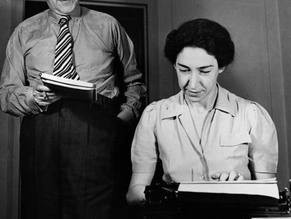 El autor austrobritánico Stefan Zweig y su mujer Lotte Altmann.