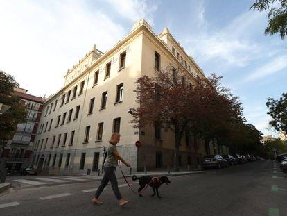 Edificio del Tribunal Superior de Justicia de Madrid.