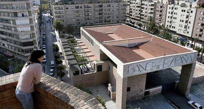 Edificio del Banco de España de Jaén, obra de Moneo.