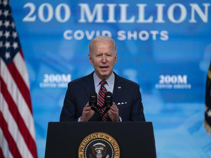 El presidente Joe Biden, el pasado 21 de abril en la Casa Blanca.