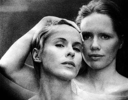 Bibi Andersson y Liv Ullmann en 'Persona'.
