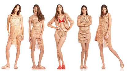Danit Peleg ha diseñado la primera colección de ropa que se puede adquirir a través de una impresora 3D