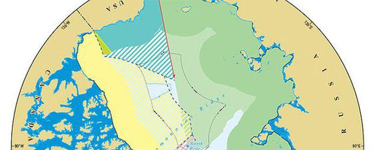 La Universidad de Durham ha delimitado las zonas de influencia sobre el Ártico de los países limítrofes